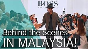Lewis Hamilton & HUGO BOSS on the Kuala Lumpur Catwalk