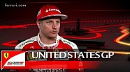 The United States GP with Kimi Raikkonen - Scuderia Ferrari 2016