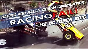 Racing and Rally Crash Compilation Week 43 October 2016