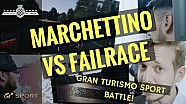 Marchettino vs Alex Smolik vs Failrace | GT Sport Battle at FOS
