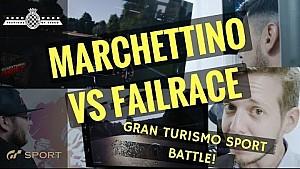 Marchettino vs Alex Smolik vs Failrace | GT Sport Battle at FOS