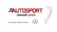 Наживо: Autosport Awards 2016
