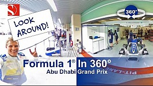 F1 in 360° - Abu Dhabi Grand Prix - Sauber F1 Team