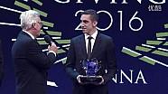 2016 FIA 颁奖 - Formula E 年度车手总冠军萨巴斯蒂安·布耶米