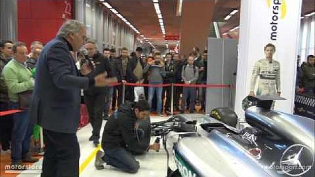 Prodotto  Analisi tecnica: Mercedes W07 Hybrid