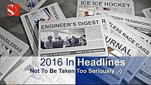 2016 In Headlines - Sauber F1 Team