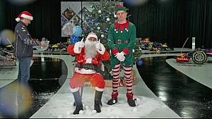 Happy Holidays from Daniel Ricciardo and Max Verstappen!