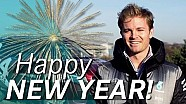 Nico Rosberg wishes you a Happy New Year!