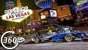 Una F.E sulla Strip di Las Vegas a 360°