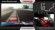 Ferrari 458 Challenge on-board camera: Alessandro Balzan in Budapest