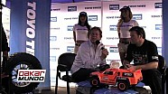 Robby Gordon  visita las instalaciones de Ekono Llantas (Surco - Lima)