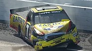 John Wes Townley Crashes at Martinsville!!