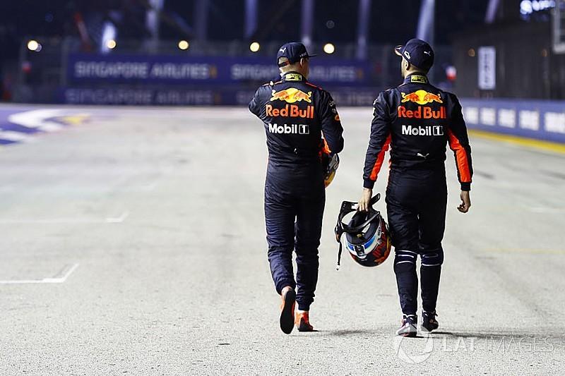 """Ricciardo: Verstappen, un équipier """"plus coriace"""" que Vettel"""