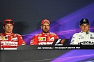 Formula 1 Russian GP: Post-qualifying press conference