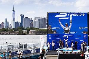 Formula E Reporte de la carrera Sam Bird se lleva la gloria en Nueva York