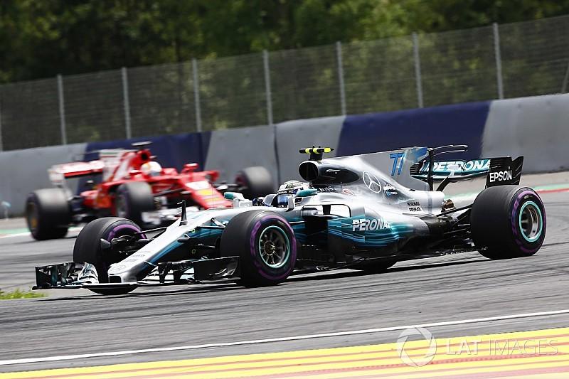 Victoria de Bottas en Austria con Vettel segundo y Pérez en séptimo