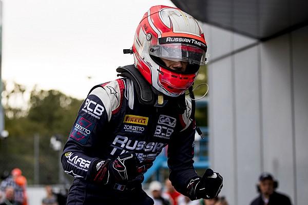 فورمولا 2 تقرير السباق فورمولا 2: غيوتو يثأر لفقدان الفوز في السباق الأوّل عبر الفوز بالسباق الثاني في مونزا