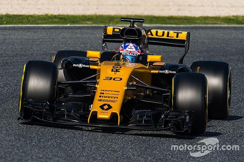 Renault sieht Williams als großen Gegner in der Formel 1 2017