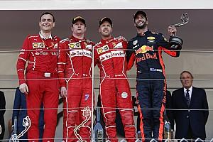 ترتيب بطولة العالم للفورمولا واحد بعد جولة موناكو