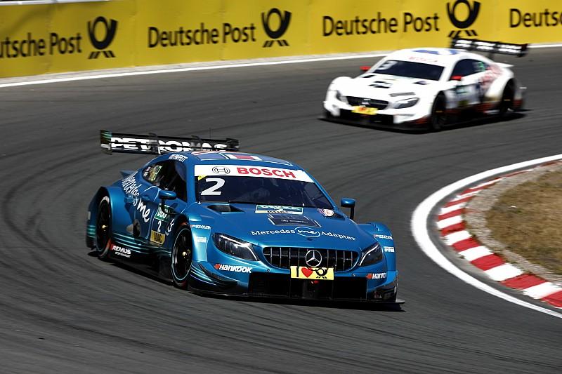 Mercedes: Als Führender der drei DTM-Wertungen in die Sommerpause