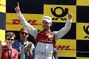 DTM Race report Zandvoort DTM: Rast scores first Audi win of 2018