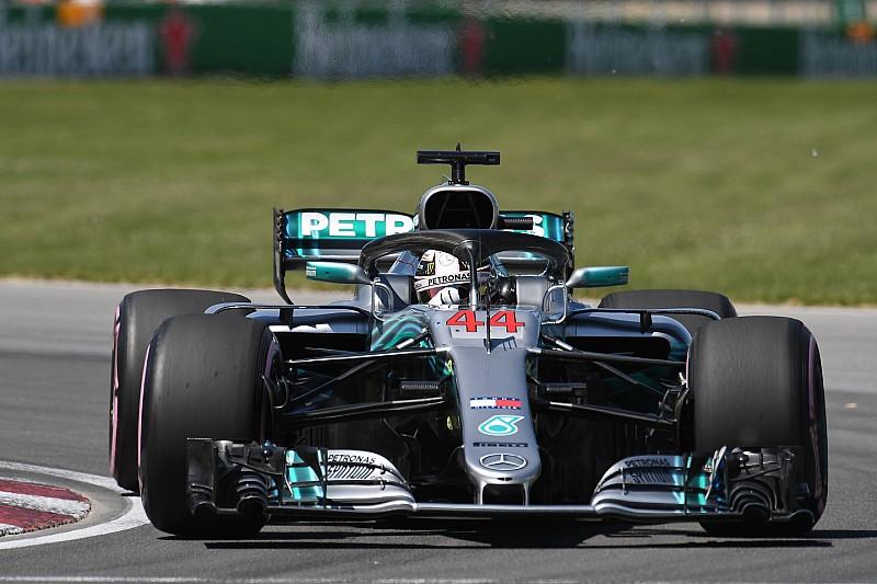 Hamilton, sıralama turlarında kuşa çarptığı için mi geride kaldı?