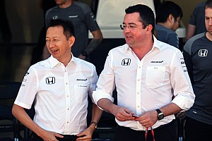 Forma-1 Jelentés a versenyről A McLaren és a Honda is sok sikert kívánt a másiknak