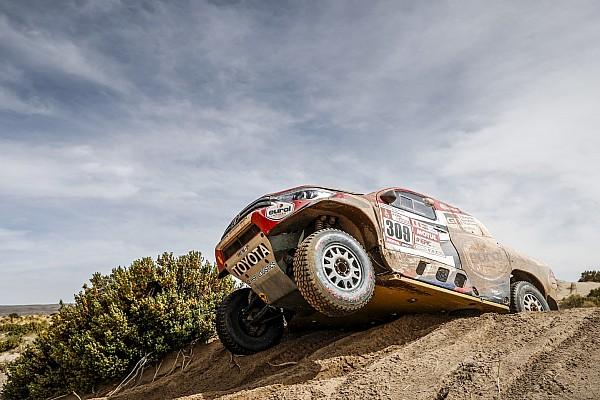 Dakar 2018: Tagessieg für Toyota - Sainz bleibt vorn