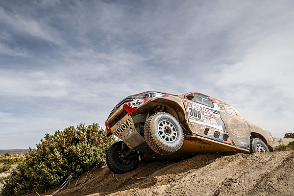 Dakar 2018, Stage 11: Ten Brinke quickest for Toyota