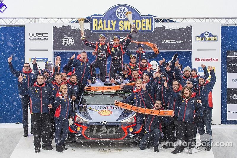 Fotogallery WRC: le 10 vittorie ottenute da Hyundai con Nandan alla direzione del team