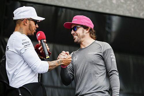 Хэмилтон: Формула 1 ничего не теряла без Алонсо