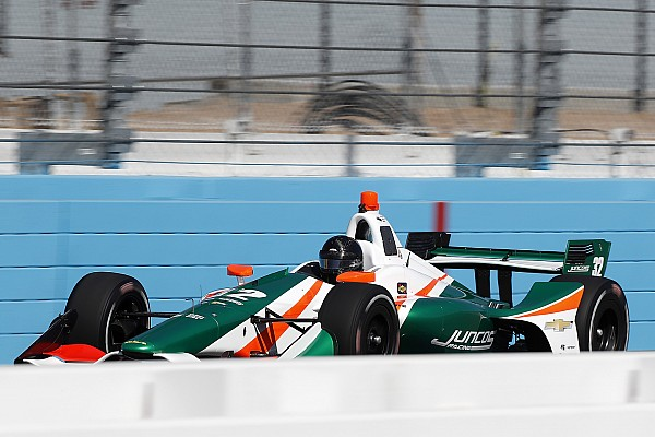 """Kaiser """"exceeded expectations"""" says Juncos after IndyCar test"""