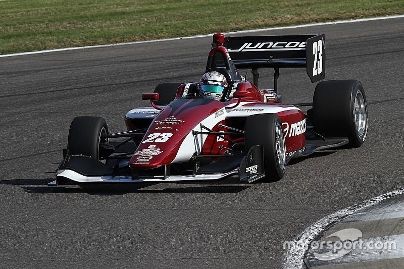 Road America Indy Lights: Franzoni scores emotional first win