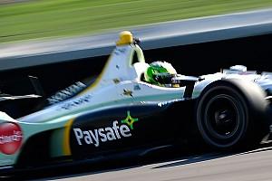IndyCar Practice report Claman De Melo passes Indy rookie test