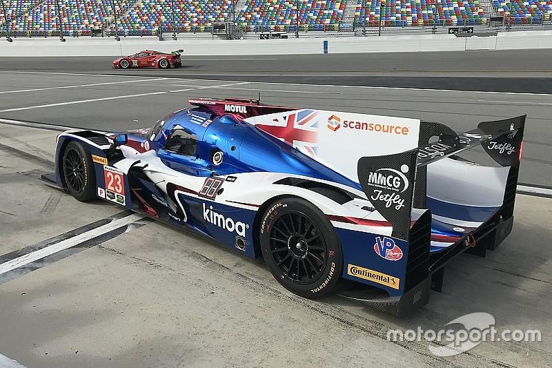 Los pilotos de IMSA vencen a los de F1 en la primera práctica en Daytona