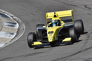 Pro Mazda Race report O'Ward grabs his chance to win Pro Mazda race at Barber