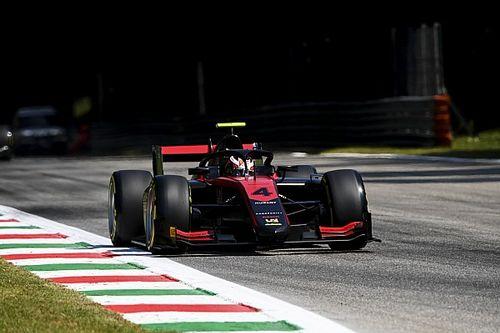 F2蒙扎排位赛:埃洛特力压角田摘杆位,周冠宇受红旗干扰