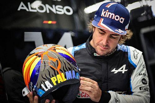 Alonso homenajeará a La Palma en el GP de EE UU de F1