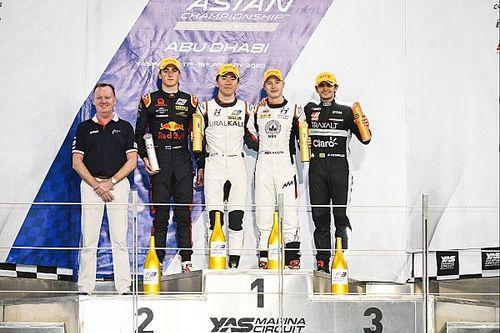 Мазепин дважды поднялся на подиум этапа азиатской Ф3 в Абу-Даби
