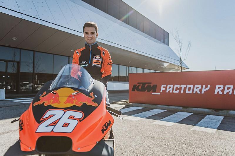 Галерея: Педроса - тест-пілот KTM