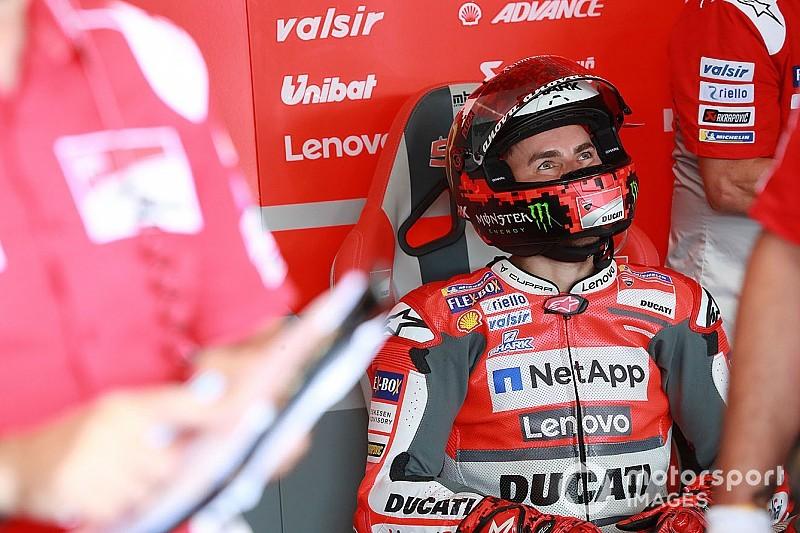 [MotoGP] 杜卡迪不会阻止洛伦佐年底为本田参加官方测试