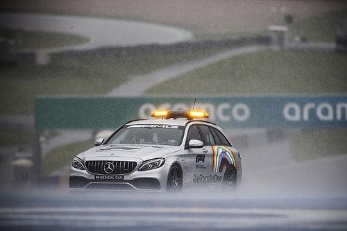 Wedstrijdleiding geeft groen licht: Toch F1-kwalificatie op zaterdag