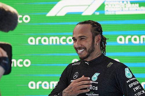 """Hamilton, İspanya GP zaferi ardından takımına """"iyi düşünülmüş strateji"""" için teşekkür etti"""