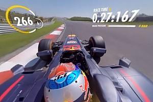 Formel 1 Feature 360-Grad-Video: Max Verstappen mit Formel-1-Fahrt in Zandvoort