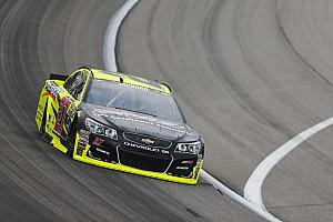 NASCAR Cup Practice report Menard leads second Cup practice at Kansas