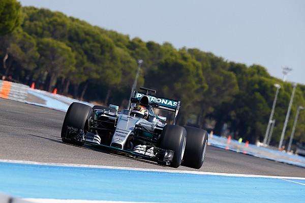 F1 メルセデス、2017年のピレリタイヤをテスト