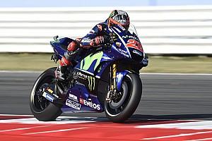 MotoGP Отчет о квалификации Виньялес завоевал поул Гран При Сан-Марино, Маркес упал