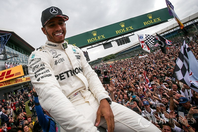 """ランク首位奪回し、絶好調のハミルトン「イギリスGPで""""火""""がついた」"""