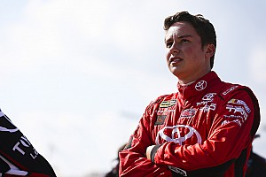 NASCAR Cup Breaking news Larson believes Christopher Bell will be a future Cup star