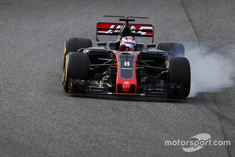 Грожан потребовал от Haas сменить поставщика тормозов